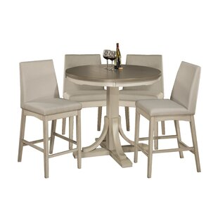 Clary 5 Piece Counter Height Dining Set By Rosecliff Heights