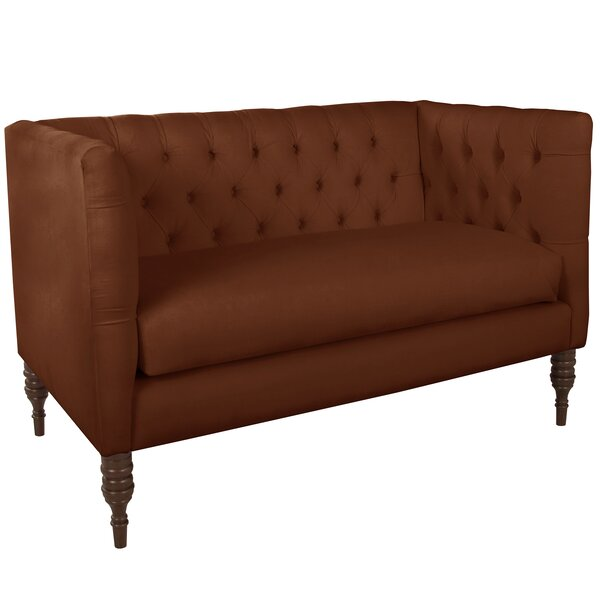 Latest Collection Tufted Settee by Wayfair Custom Upholstery by Wayfair Custom Upholstery��