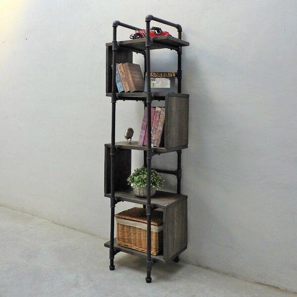 Cisneros Geometric Bookcase By Williston Forge