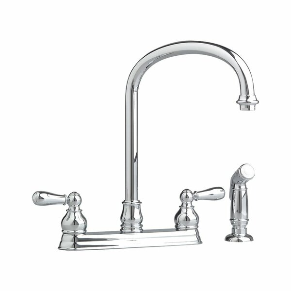Hampton Double Handle Kitchen Faucet by American Standard