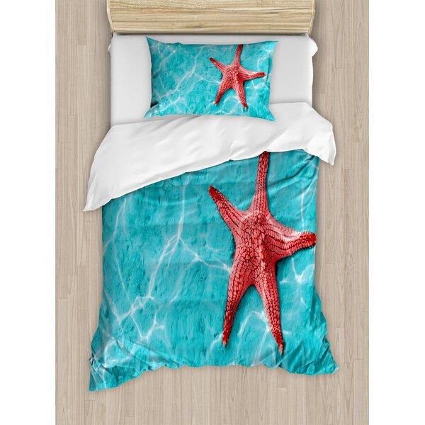 Starfish Duvet Set by East Urban Home