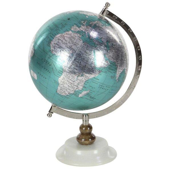 Elegant Marble Globe by Charlton Home