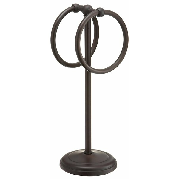 Pedestal Fingertip Free Standing Towel Stand by Wi