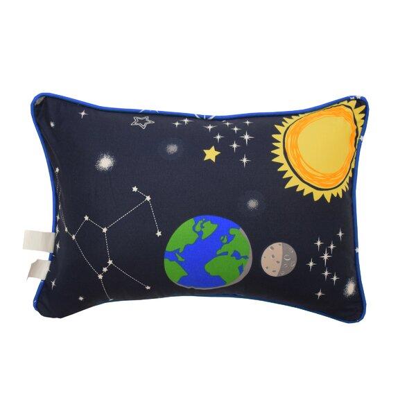 Space Adventure Oblong Lumbar Pillow by Waverly