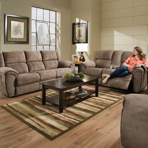 Genevieve Reclining Configurable Living Room Set by Red Barrel Studio
