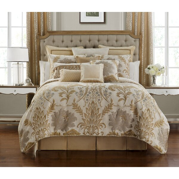 Ansonia 4 Piece Reversible Comforter Set