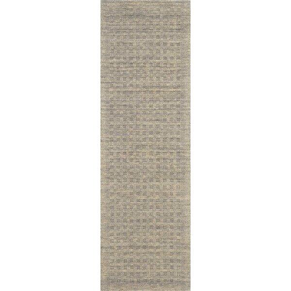 Dakoda Hand-Tufted Wool Latte Area Rug