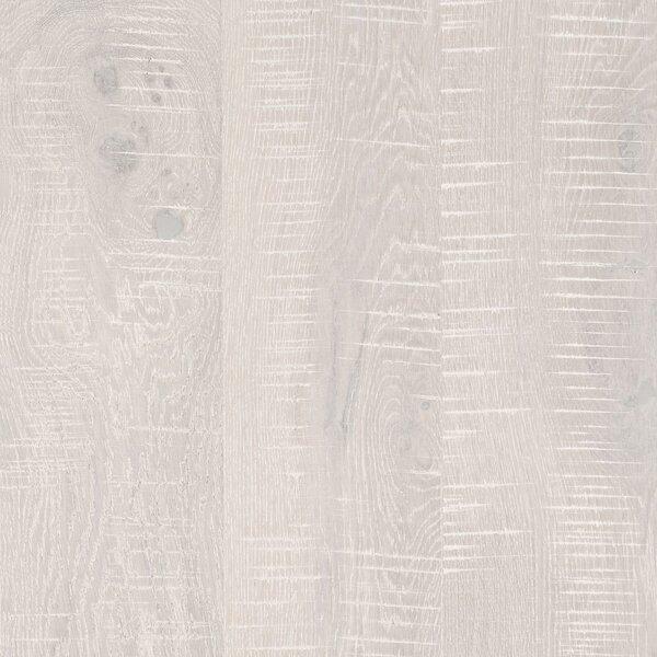 Arbordale Random Width Engineered Oak Hardwood Flooring in Artic White by Mohawk Flooring