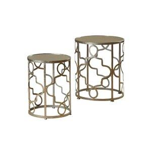 Beautiful Witney 2 Piece Nesting Table Set