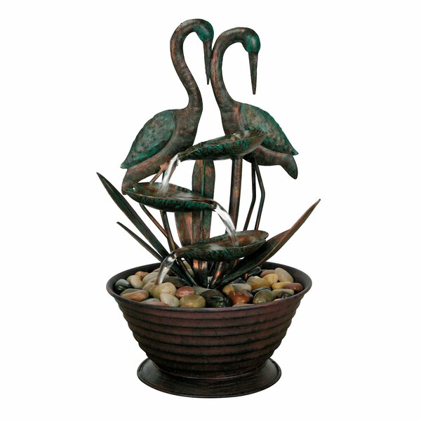 Cranes Fountain by Foreside Home & Garden
