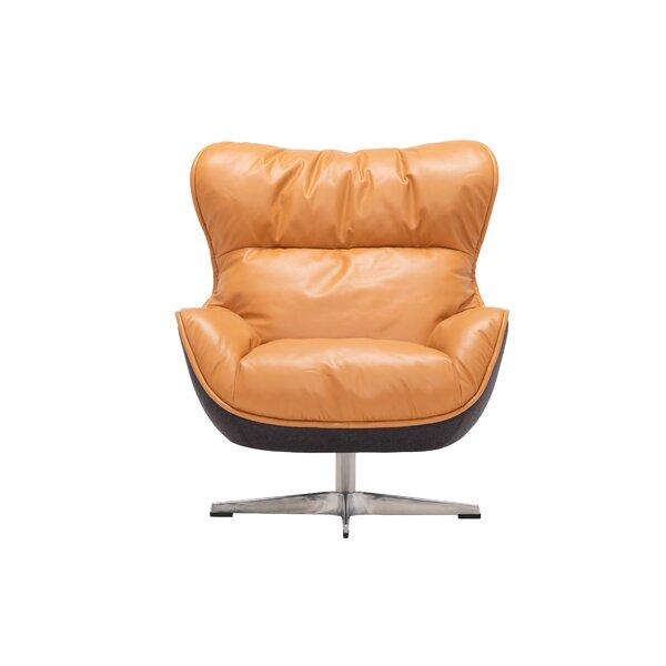 Buy Sale Arie Swivel Wingback Chair