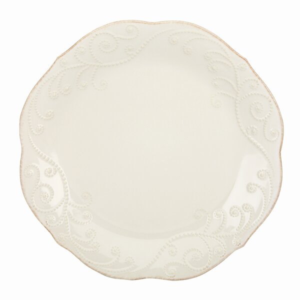 French Perle 11 Dinner Plate by Lenox
