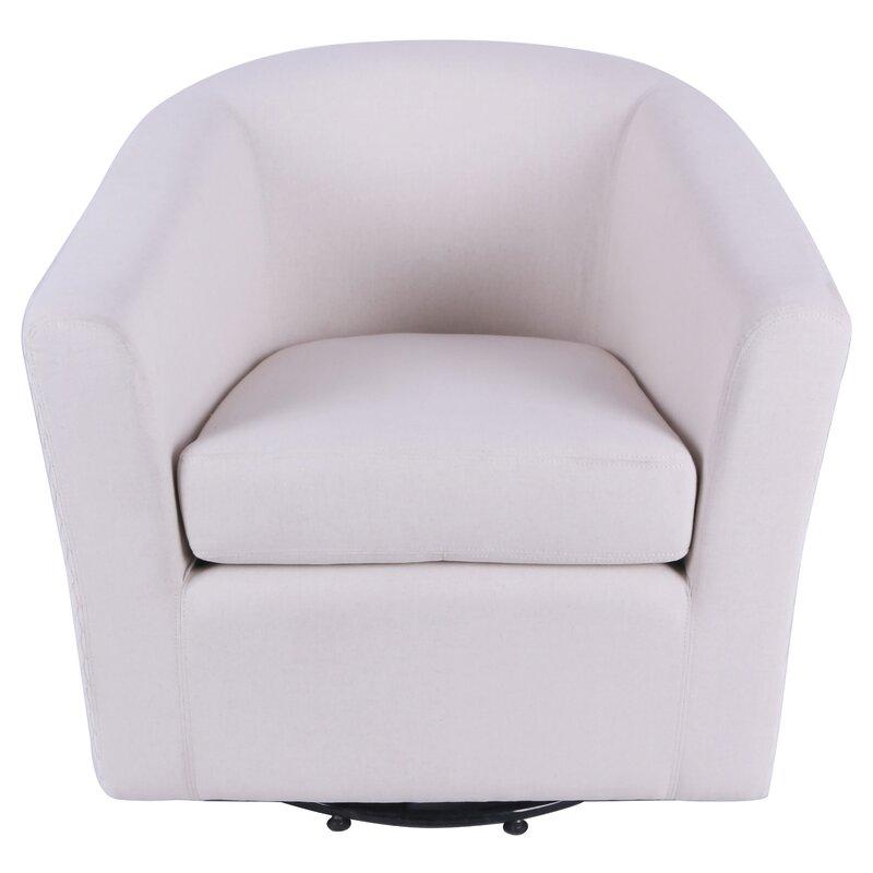 Adorable Teesha Swivel Barrel Chair By Orren Ellis Check