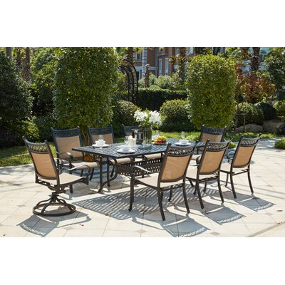 Sol 72 Outdoor Traditional Dining Set Dining Sets
