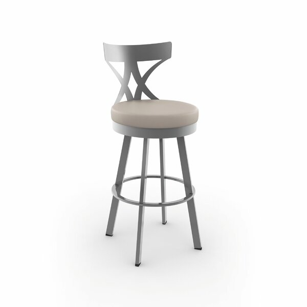 Leechburg 30 Swivel Bar Stool by Wade Logan