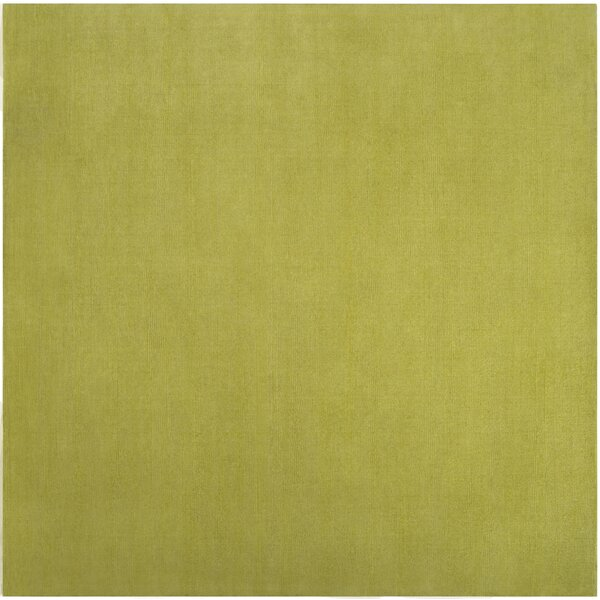 Villegas Lime Green Area Rug by Wrought Studio