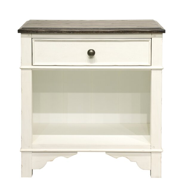 Trypimeni 1 Drawer Nightstand by Astoria Grand