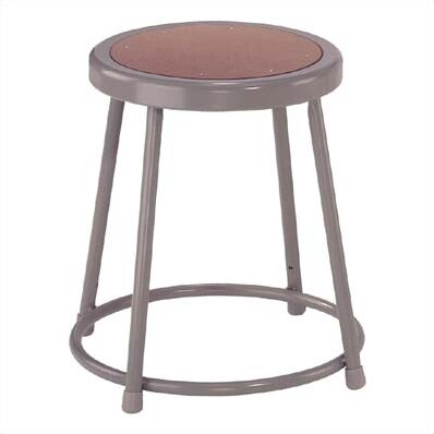 Stool with Footring by National Public Seating