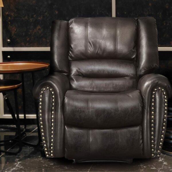 Rolande Heavy-duty Power Lift Assist Reclining Massage Chair Red Barrel Studio W000630214