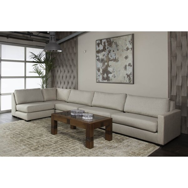 Secrest Plush Deep Modular Sectional by Brayden Studio