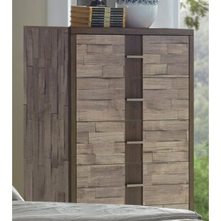Rodrigues Melamine 5 Drawer Chest by Union Rustic