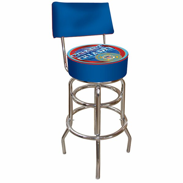 31 Swivel Bar Stool by Trademark Global