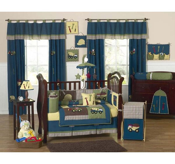 Construction Zone 9 Piece Crib Bedding Set by Sweet Jojo Designs