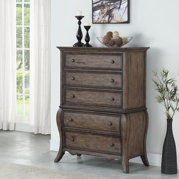 Toni 5 Drawer Chest by One Allium Way