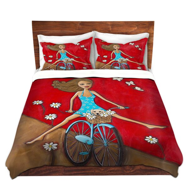 One Fun Spring Day Duvet Cover Set