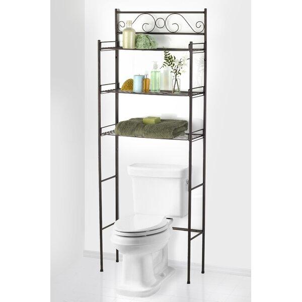 24.75 W x 65.5 H Over the Toilet Storage by Popular Bath