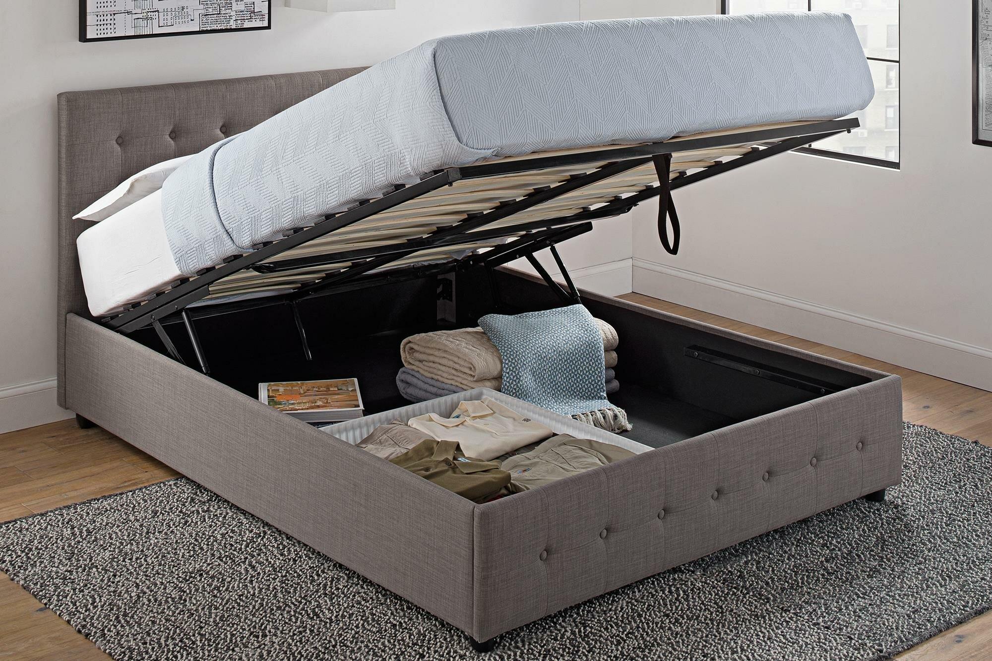 Morphis Upholstered Storage Platform