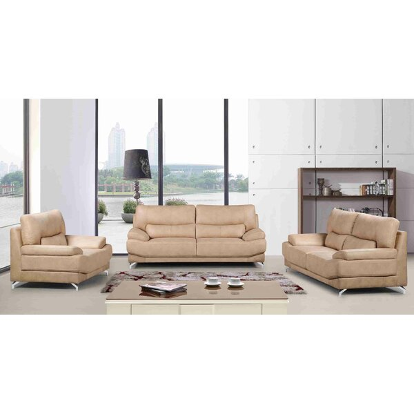 Martinelli 3 Piece Living Room Set (Set of 3) by Latitude Run