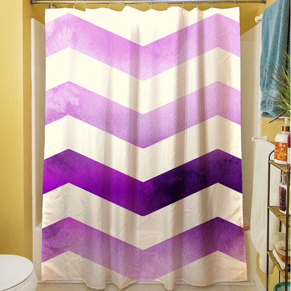 Ombre Shower Curtain by Manual Woodworkers & Weavers