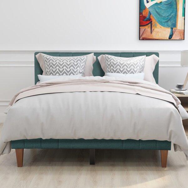 Salerno Queen Upholstered Platform Bed by Corrigan Studio