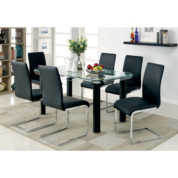Arlinda 5 Piece Dining Set by Orren Ellis