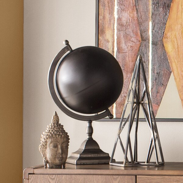 Decorative Metal Globe by Cole & Grey