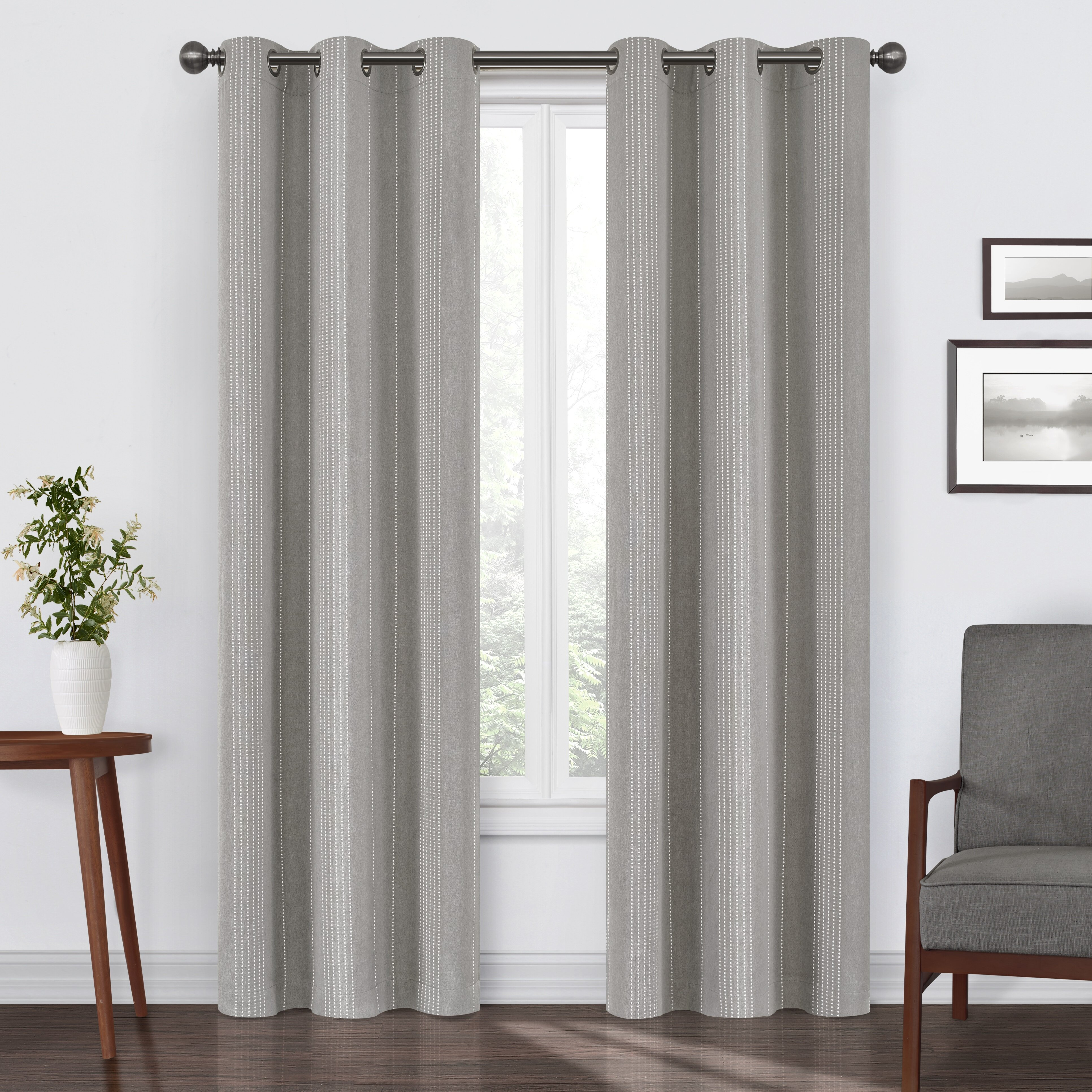 Blackout Striped Curtains Drapes You Ll Love In 2021 Wayfair