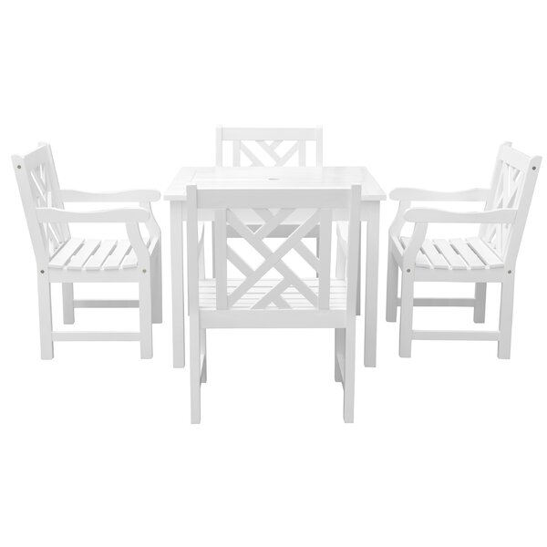 Monterry 5 Piece Patio Dining Set by Beachcrest Home