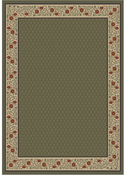 Jewel Harmony Green Area Rug by Threadbind