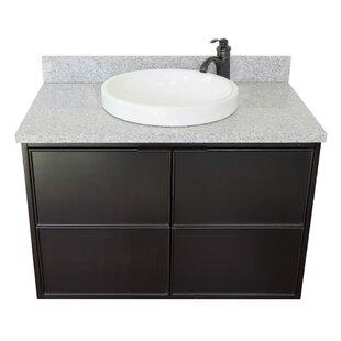 Ellison 37 Wall-Mounted Single Bathroom Vanity Set