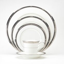 Chatelaine Platinum 5 Piece Place Setting, Service for 1 by Noritake