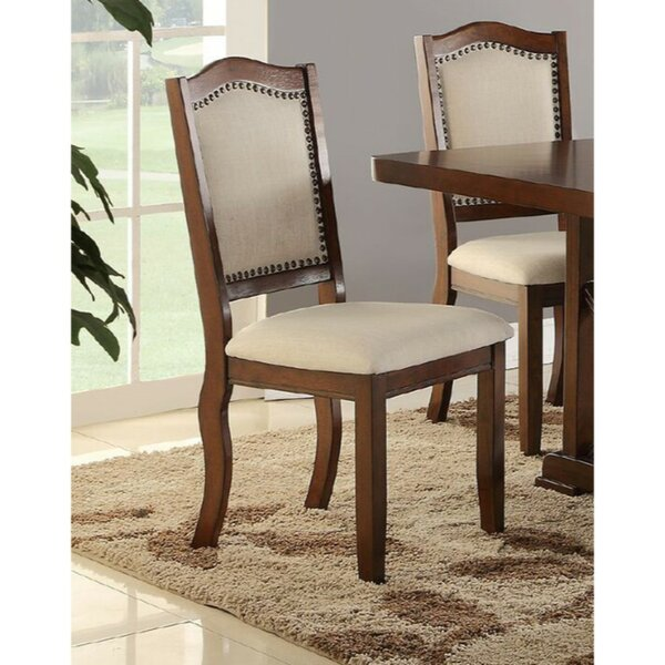Ruggeri Contemporary Upholstered Dining Chair (Set of 2) by Charlton Home