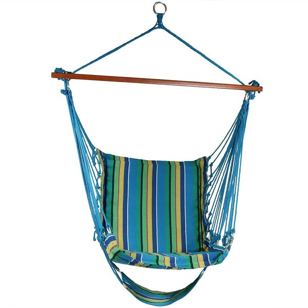 Caleigh Hanging Padded Soft Cushioned Chair Hammock by Freeport Park