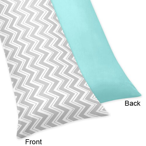 Zig Zag Body Pillow Case by Sweet Jojo Designs