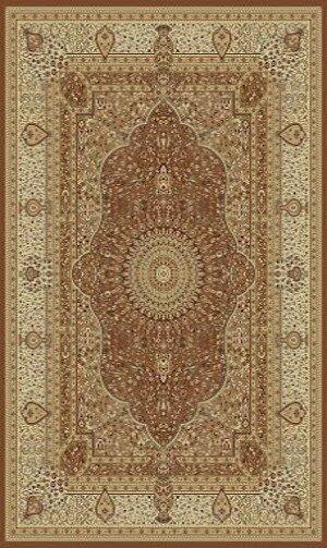 Tabriz Brown Indoor/Outdoor Area Rug by Rug Factory Plus