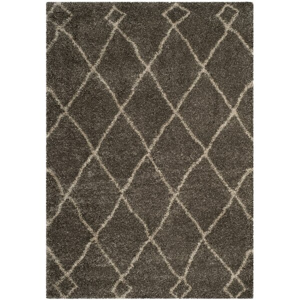 Hester Gray/Beige Area Rug by Bungalow Rose