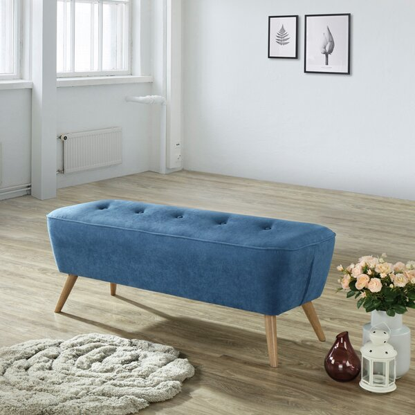 Renfroe Upholstered Bench by Everly Quinn