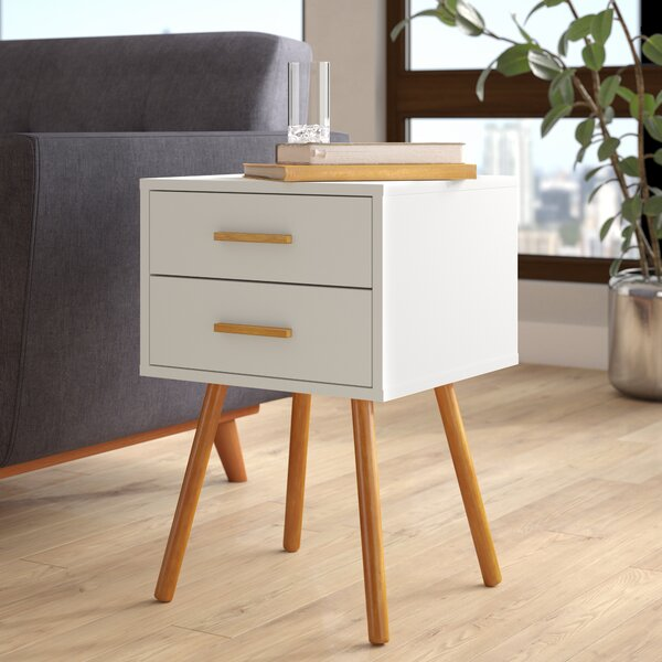Delilah End Table With Storage by Langley Street