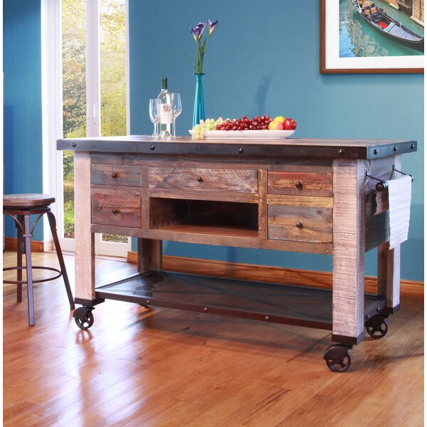 Doynton Kitchen Cart by 17 Stories