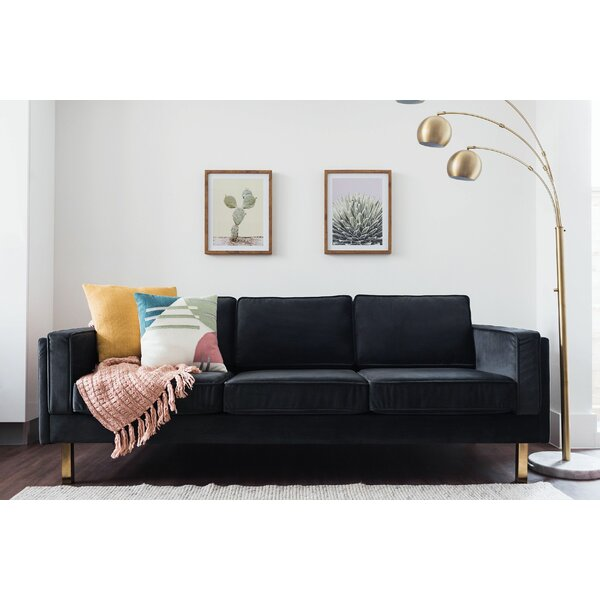 Nice Claybrooks Mid-Century Modern Sofa by Everly Quinn by Everly Quinn